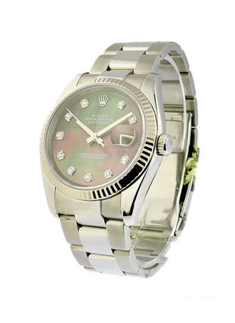 Rolex Unworn  Men's Steel Datejust with Oyster Bracelet
