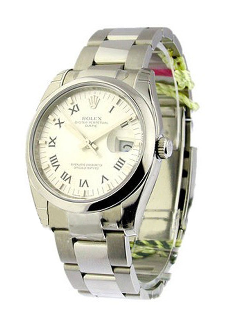 Rolex Unworn Men's Date with Oyster Bracelet