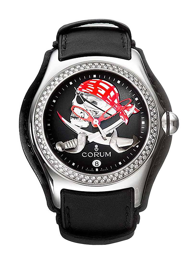 Corum Bubble Privateer with 2 Row White Diamond Bezel - Limited Edition