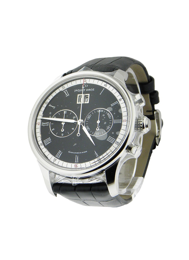 Jaquet Droz Chrono Grande Date in Steel