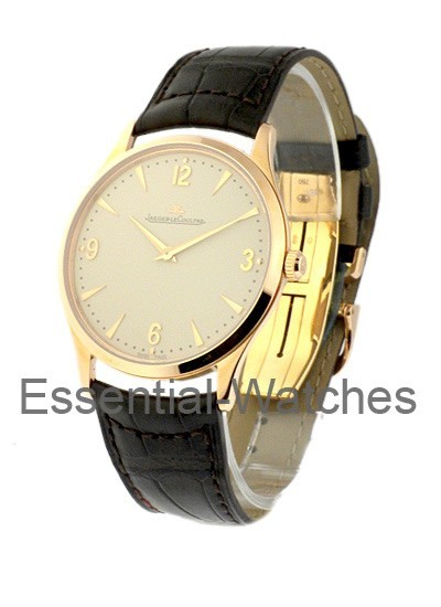 Jaeger - LeCoultre Master Ultra Thin in Rose Gold