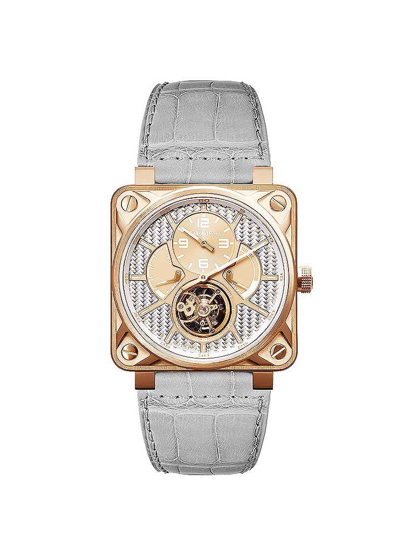 Bell & Ross BR 01 Tourbillon in Rose Gold