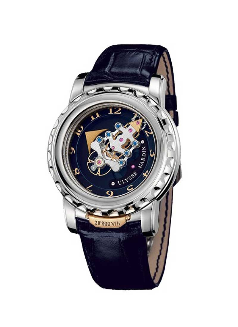 Ulysse Nardin FREAK 28''800 VH in White Gold