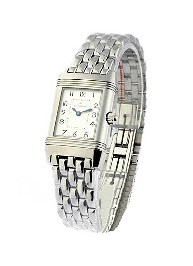 Jaeger - LeCoultre Reverso Duetto in Steel with Diamond