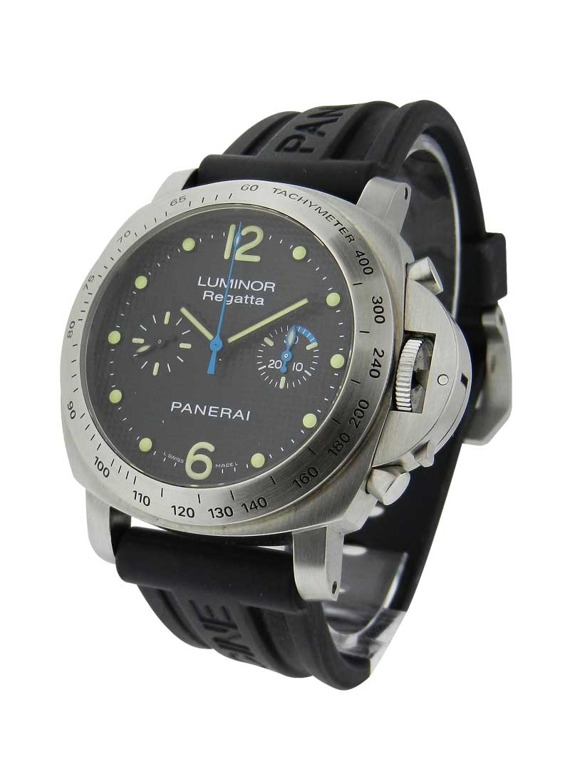 Panerai PAM 308 - Luminor Regatta - Special Edition 2009 in Steel