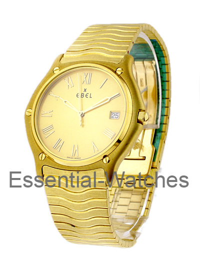 Ebel Classic Wave Men's Yellow Gold