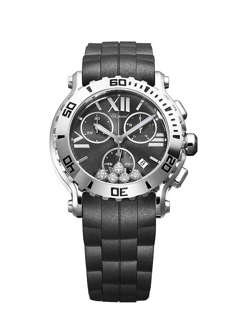 Chopard Happy Sport Chronograph 42mm in Steel
