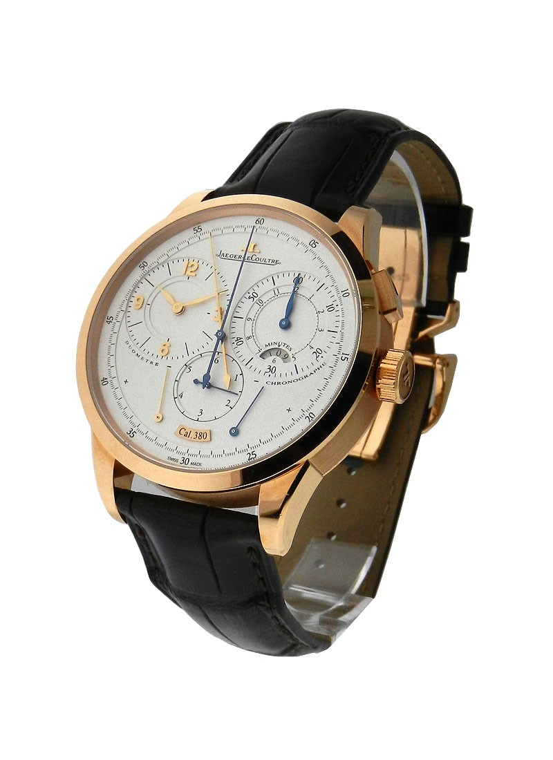 Jaeger - LeCoultre Duometre Chronograph in Rose Gold