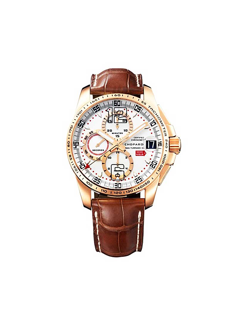 Chopard Mille Miglia GT XL Chrono 2008 in Rose Gold