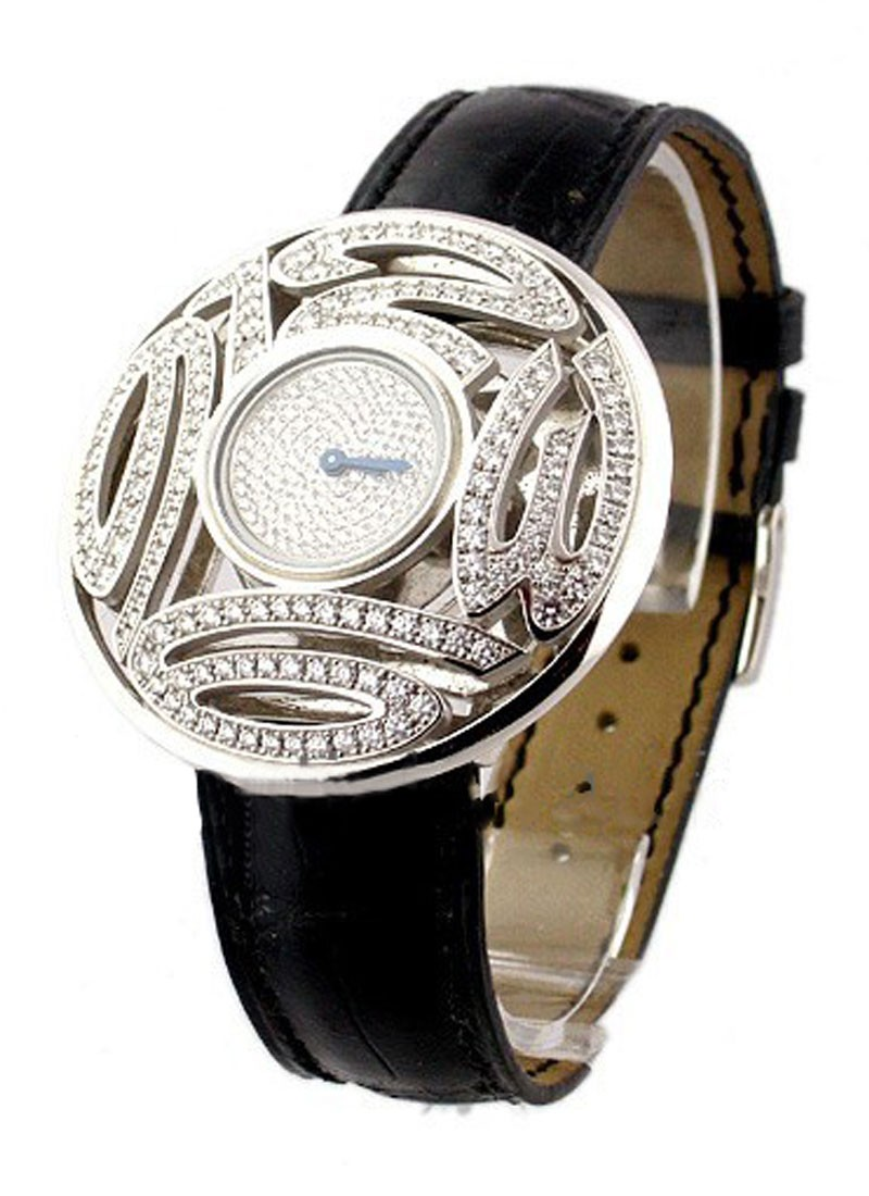 Chopard Classique Boutique Limited Edition in White Gold with Diamond Case