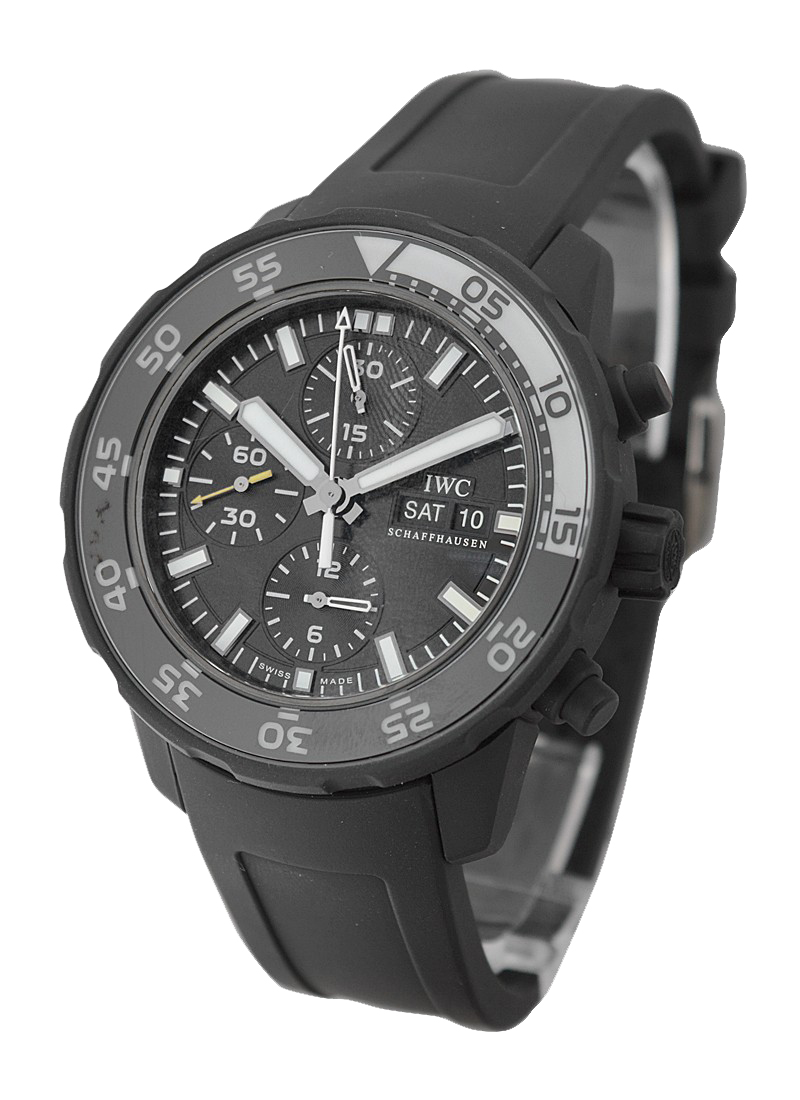 IWC Galapagos Aquatimer Chronograph in Rubber Coated Steel