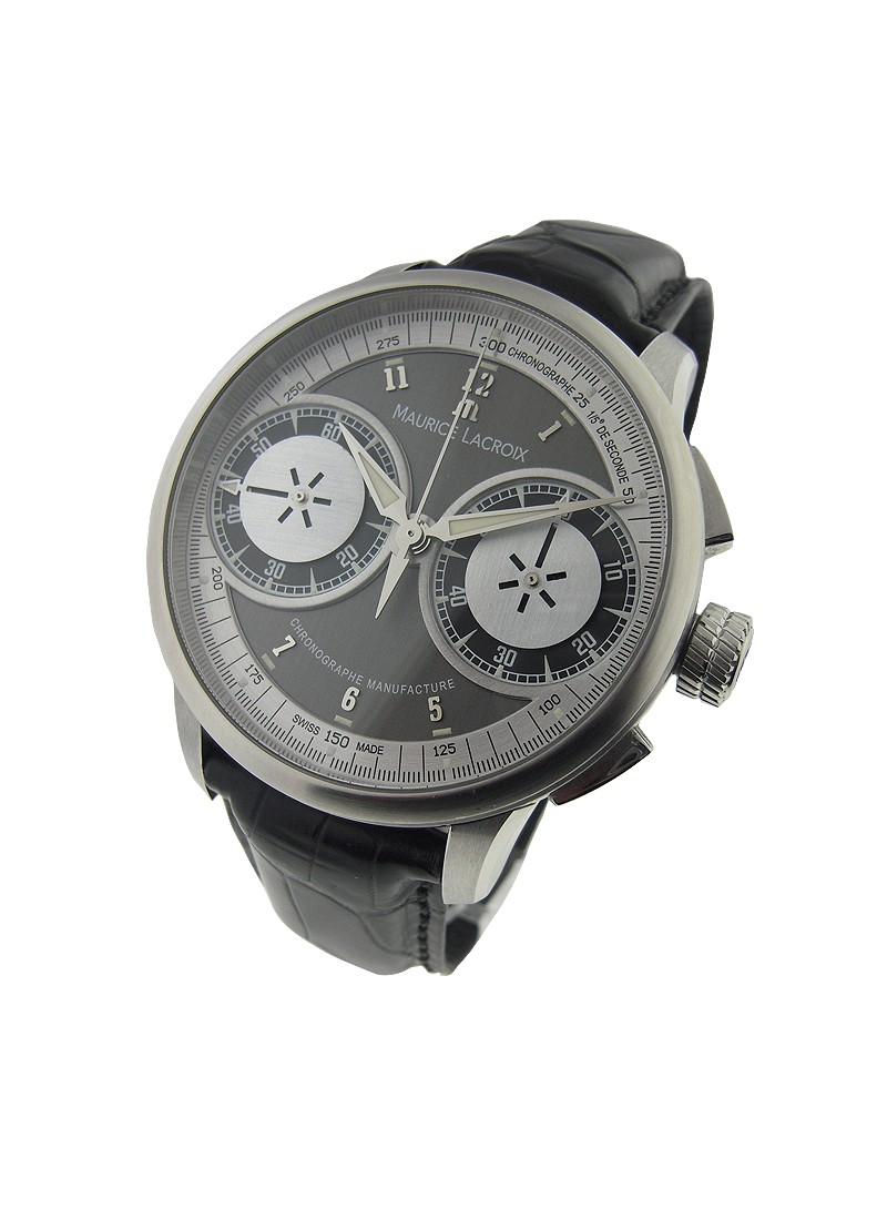 Maurice Lacroix Masterpiece Le Chronograph 46mm in Stainless Steel