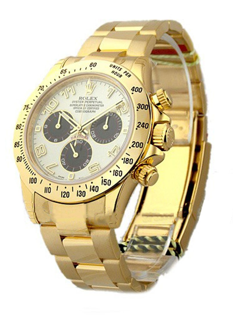 Rolex Unworn Daytona in Yellow Gold