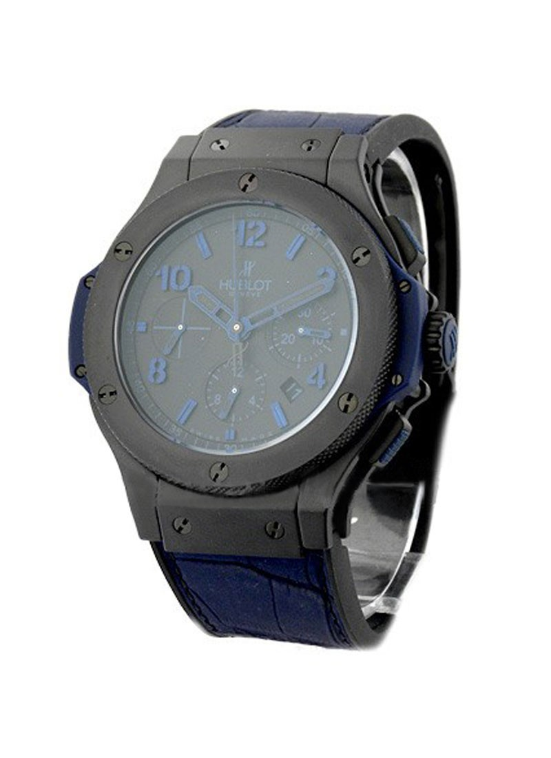Hublot Big Bang All Black Blue 44mm in Black Ceramic