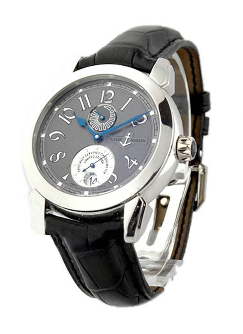 Ulysse Nardin Ulysse l Chronometer in Platinum Limited Edition 350pcs