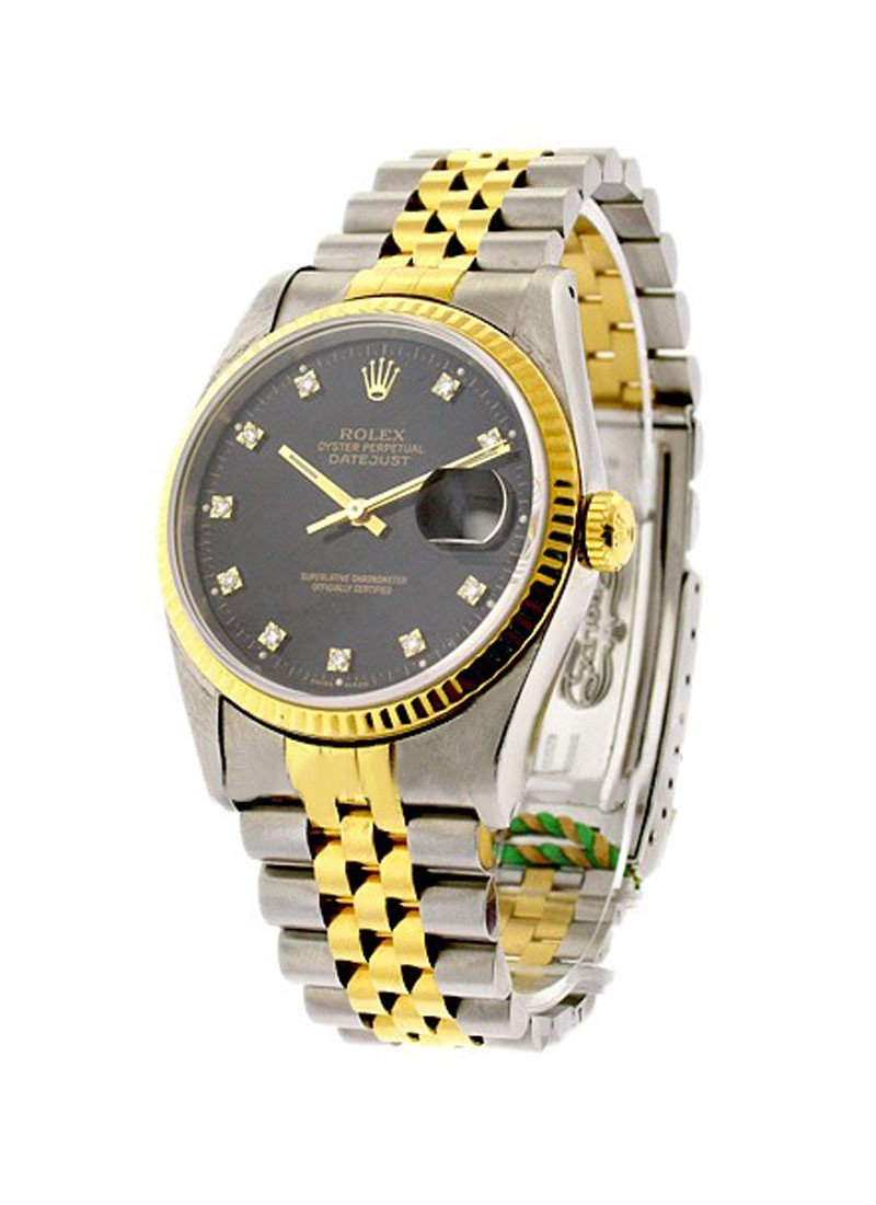 Rolex Used  Mens 2 Tone DATEJUST with Jubilee Bracelet 1623