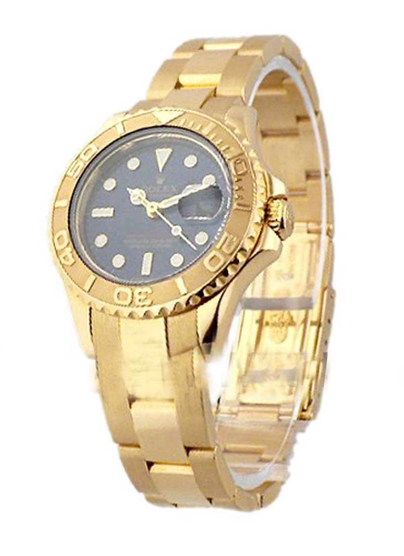 Rolex Used Yacht Master Ladies Yellow Gold 16962