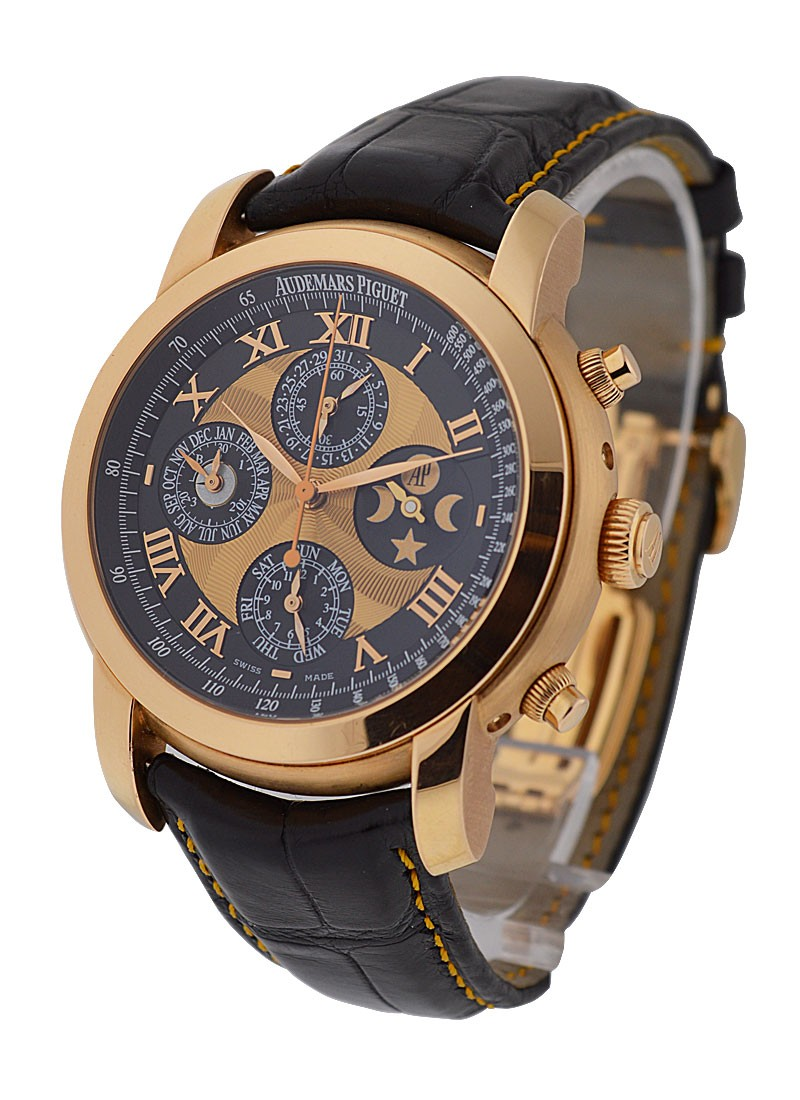 Audemars Piguet Jules Audemars Arnolds All Star Perpetual Chronograph in Rose Gold