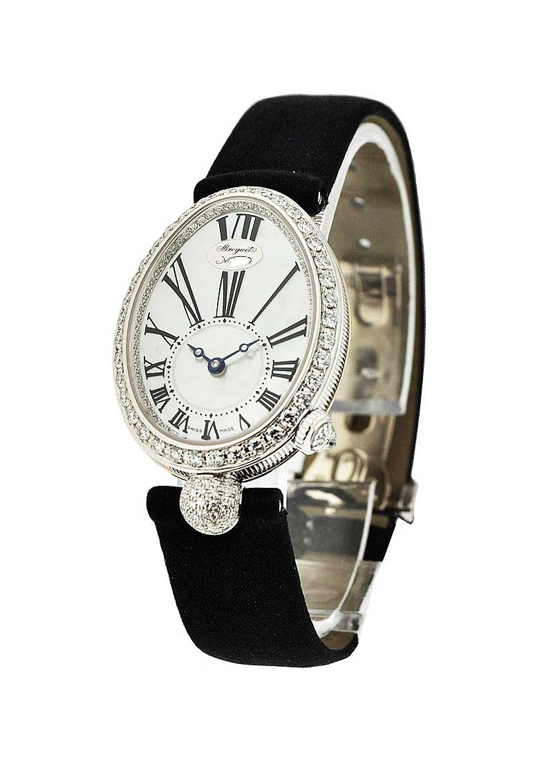 Breguet Reine de Naples Automatic Mini in White Gold