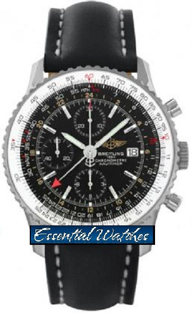 Breitling Navitimer World Chronograph 46mm Automatic in Steel