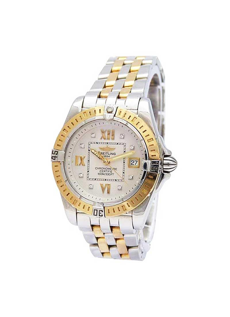 Breitling Cockpit Lady's Automatic in Steel with Yellow Gold Bezel