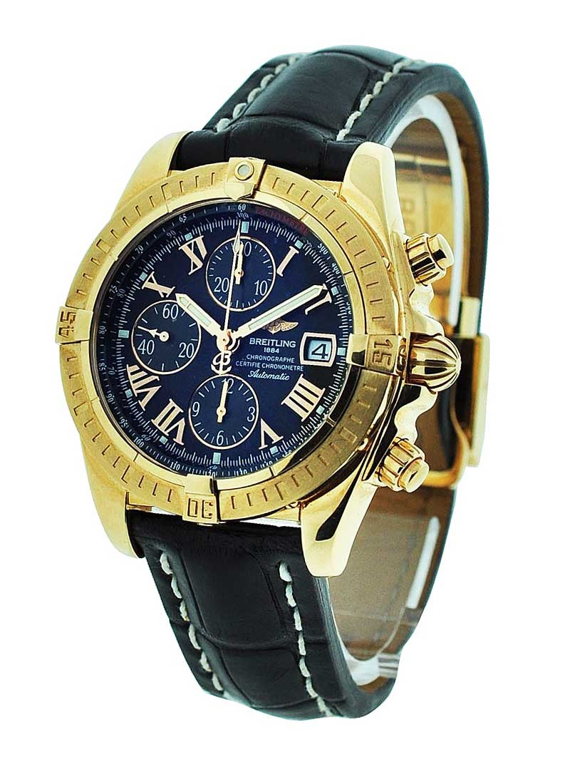 Breitling Chronomat Evolution Rose Gold