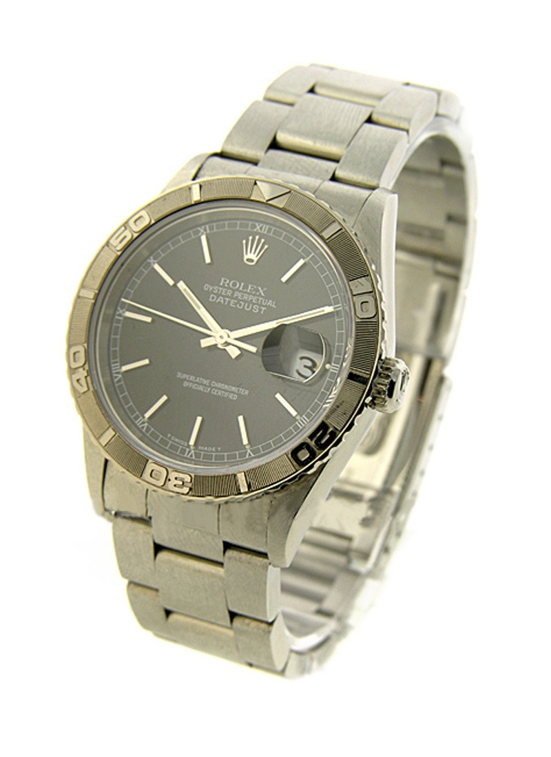 Rolex Used 36mm Thunderbird with Oyster Bracelet