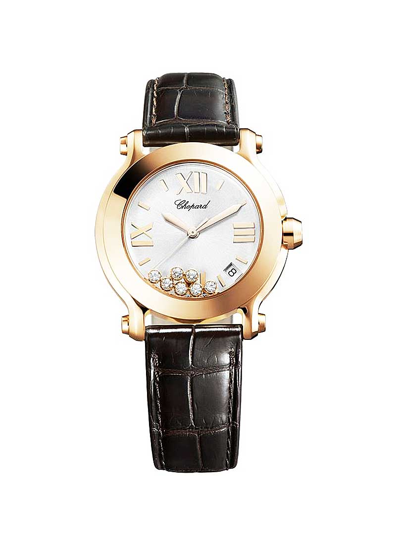 Chopard Happy Sport 2  in Rose Gold
