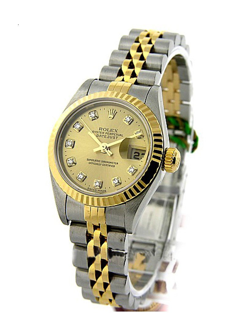 Rolex Used Lady''''s 2 Tone DATEJUST with Jubilee Bracelet 79173