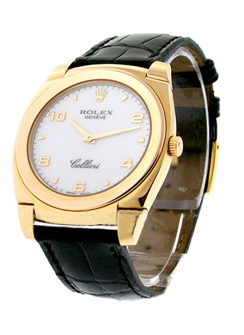 Rolex Used Cellini Cestello Rose Gold 5330/5