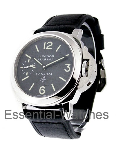 Panerai PAM 318 - Luminor Marina Logo Brooklyn Bridge in Steel