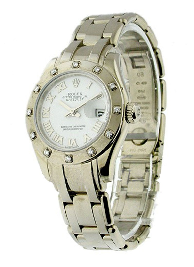 Rolex Used  Lady''''s White Gold Masterpiece 80319