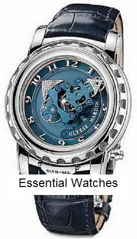 Ulysse Nardin Freak Diamonsil in Platinum -Limited Edition Of 28 Pieces