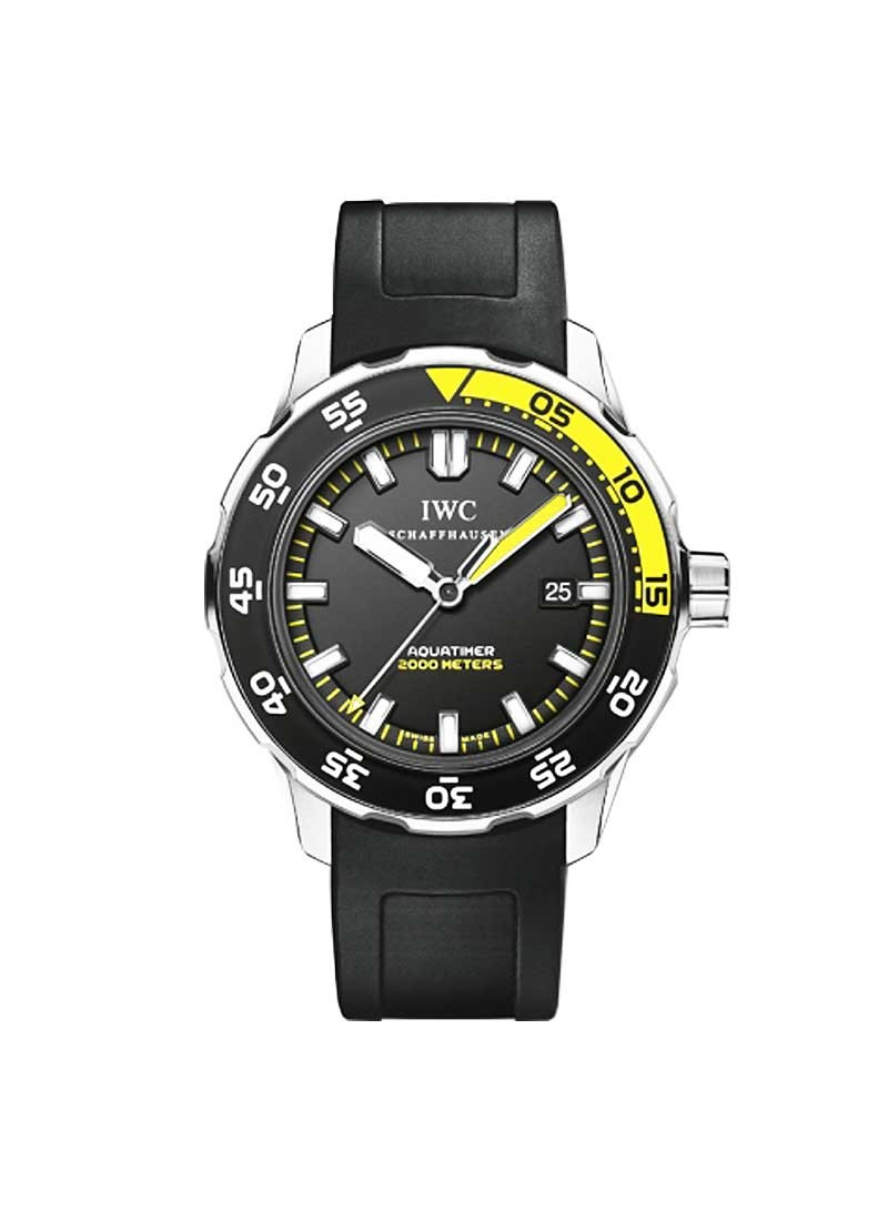 IWC Aquatimer  2000 44mm Automatic in Steel with PVD and Stainless Steel Bezel