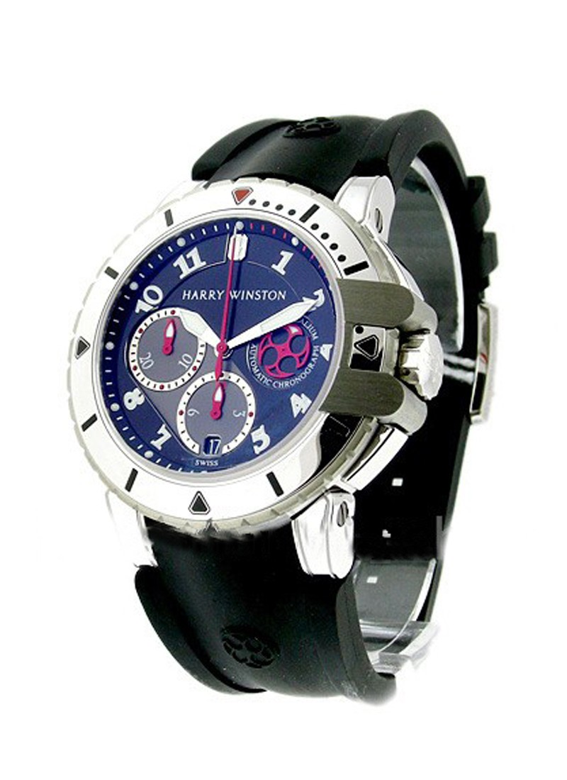 Harry Winston Project Z2 Sport Ocean Diver in Zalium and White Gold