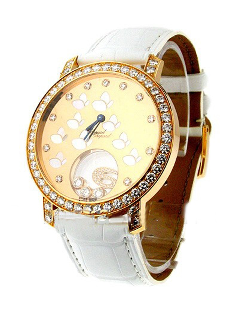 Chopard Happy Sport Round Rose Gold