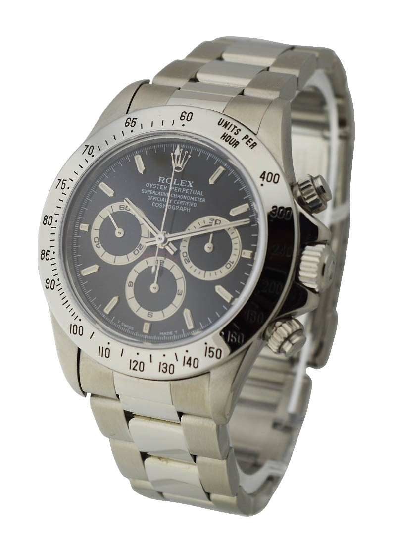Rolex Used Daytona Zenith Movement in Steel