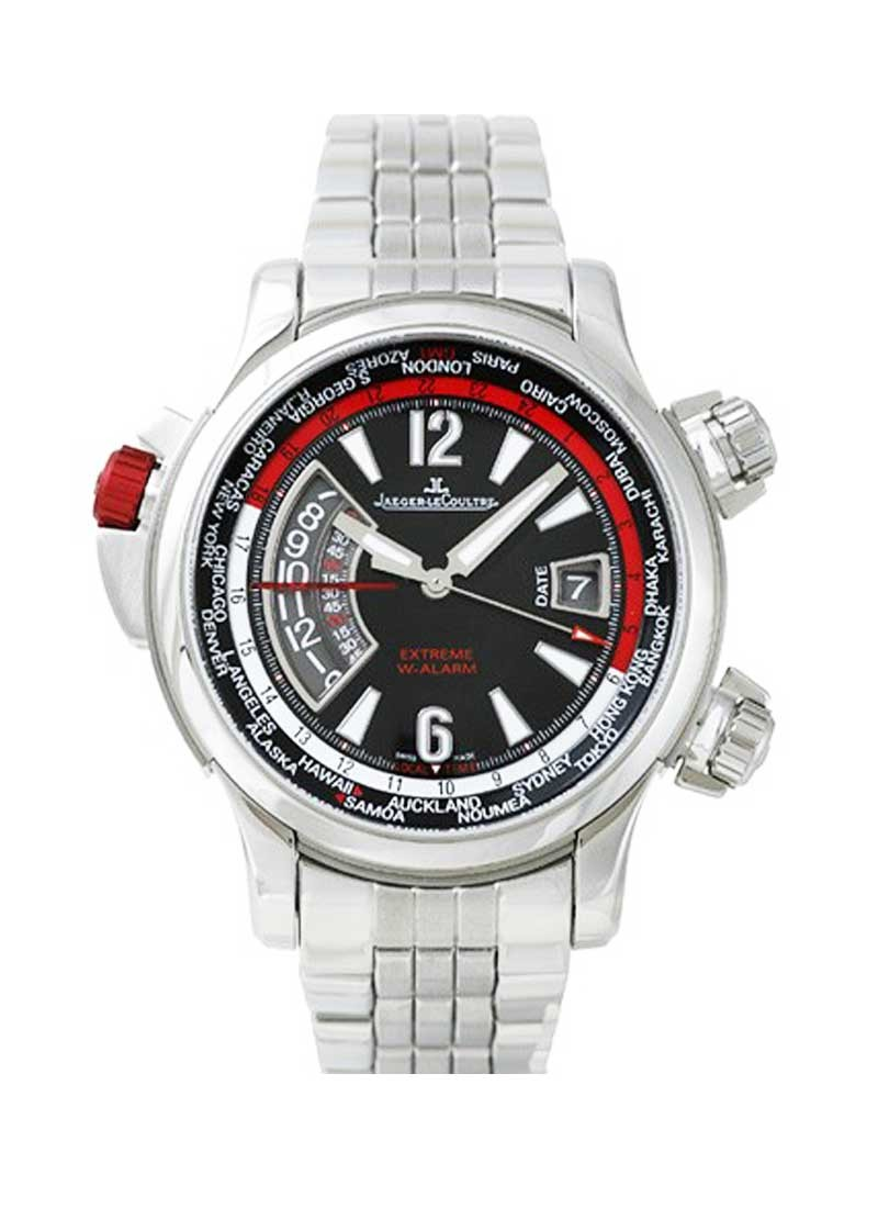 Jaeger - LeCoultre Master Compressor Extreme World Alarm 46.3mm Automatic in Steel