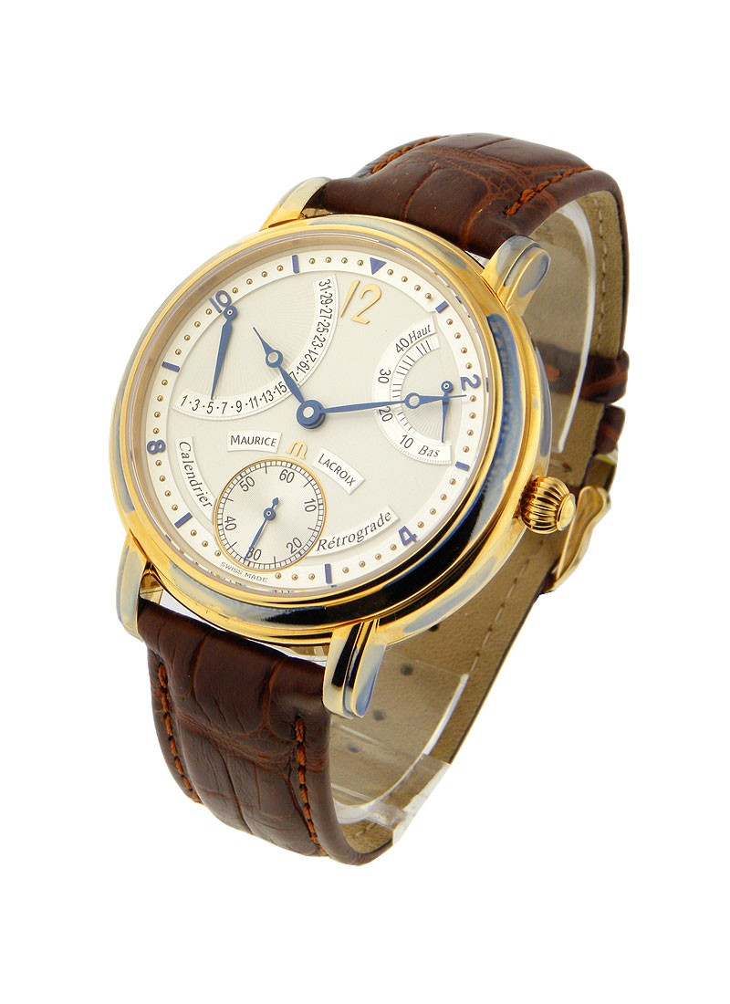 Maurice Lacroix Masterpiece Calendrier Retrograde in Rose Gold