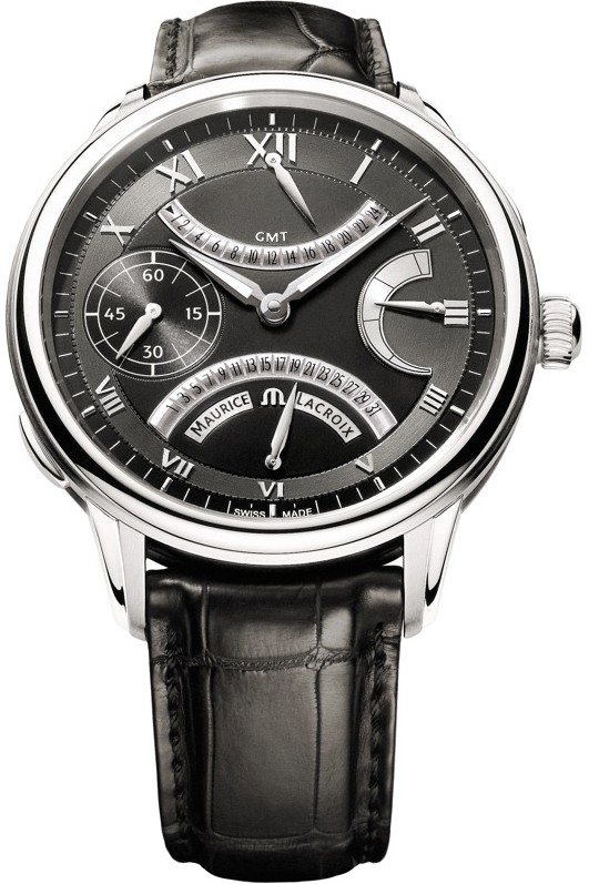 Maurice Lacroix Masterpiece Double Retrograde in Steel