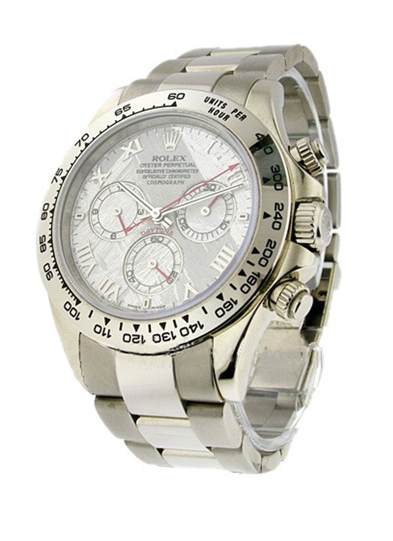 Rolex Used Daytona - White Gold