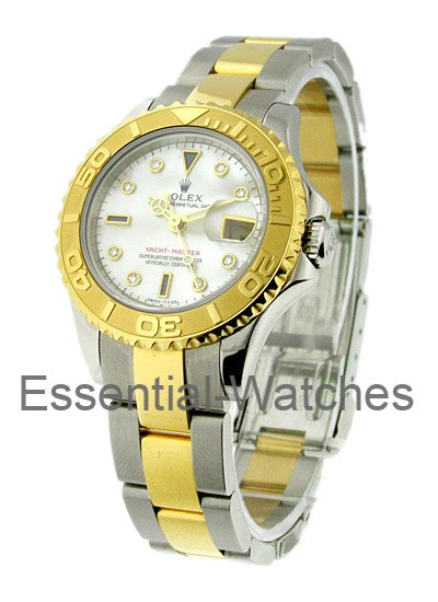Rolex Used Yacht-Master 2-Tone Small Size 29mm