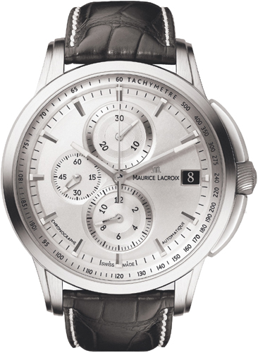 Maurice Lacroix Pontos Chrono Valgranges 47mm in Steel