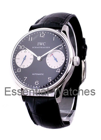 IWC Portuguese 7 Day Automatic in Steel