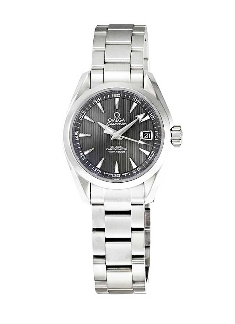 Omega Aqua Terra Ladies Automatic in Steel