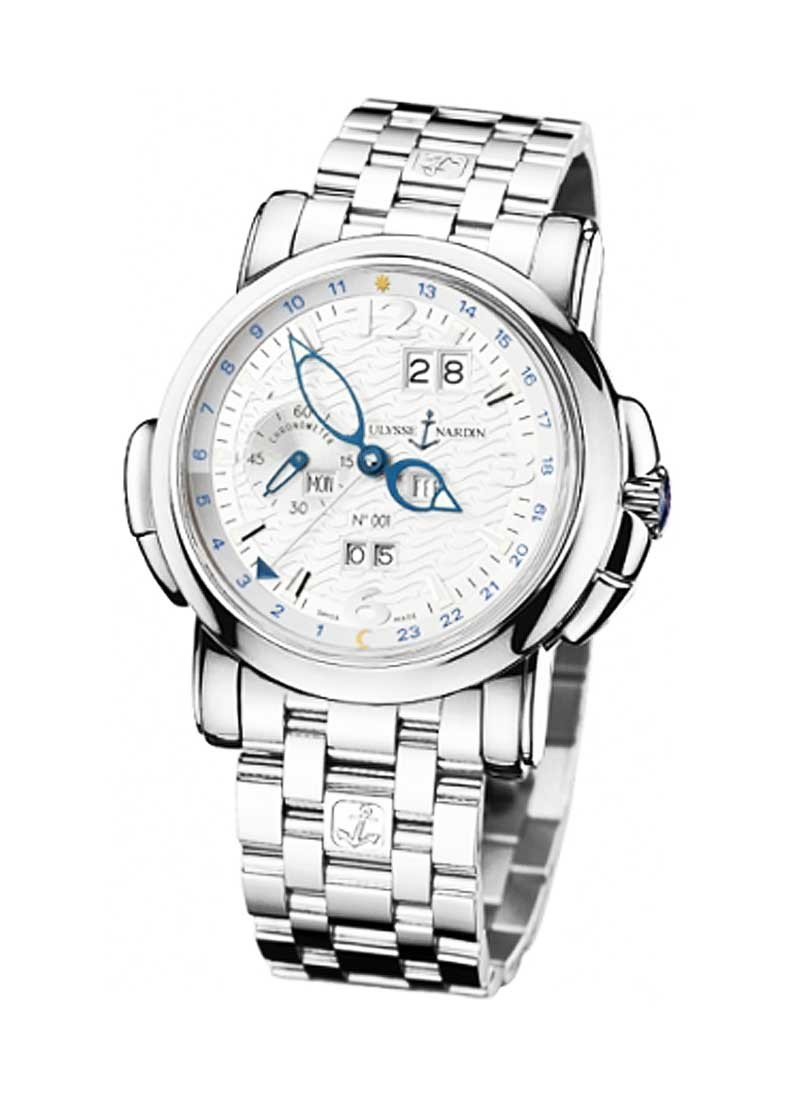 Ulysse Nardin GMT +/- Perpetual 42mm Automatic in White Gold