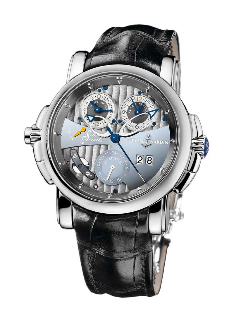 Ulysse Nardin Sonata Silicium 42mm Automatic in White Gold