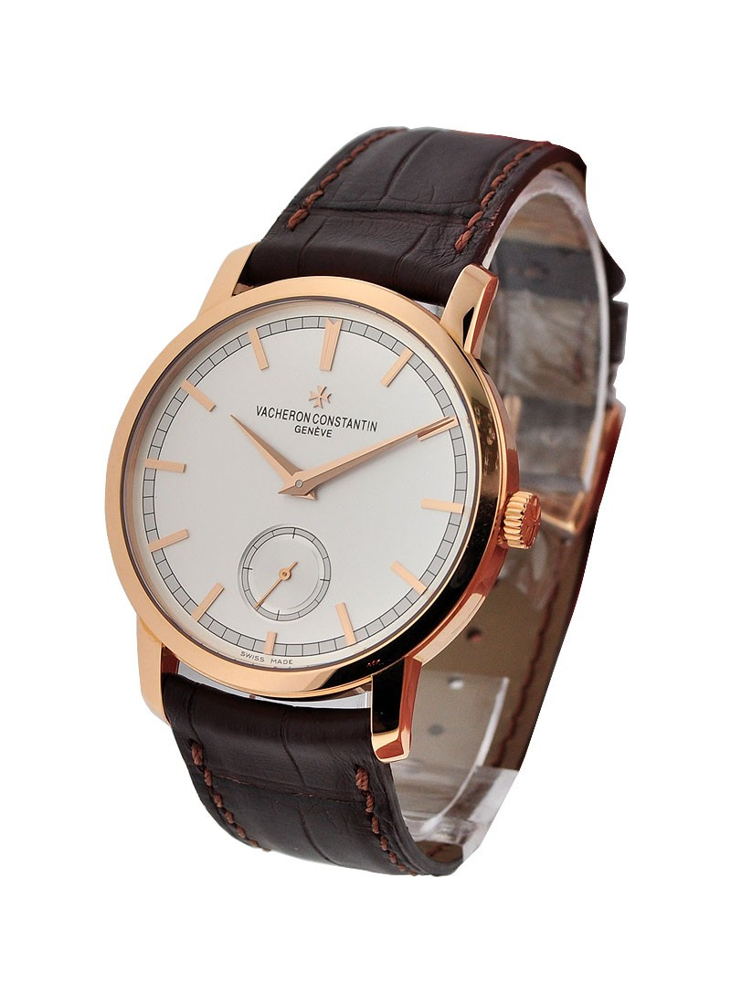 Vacheron Constantin Patrimony Traditionnelle in Rose Gold