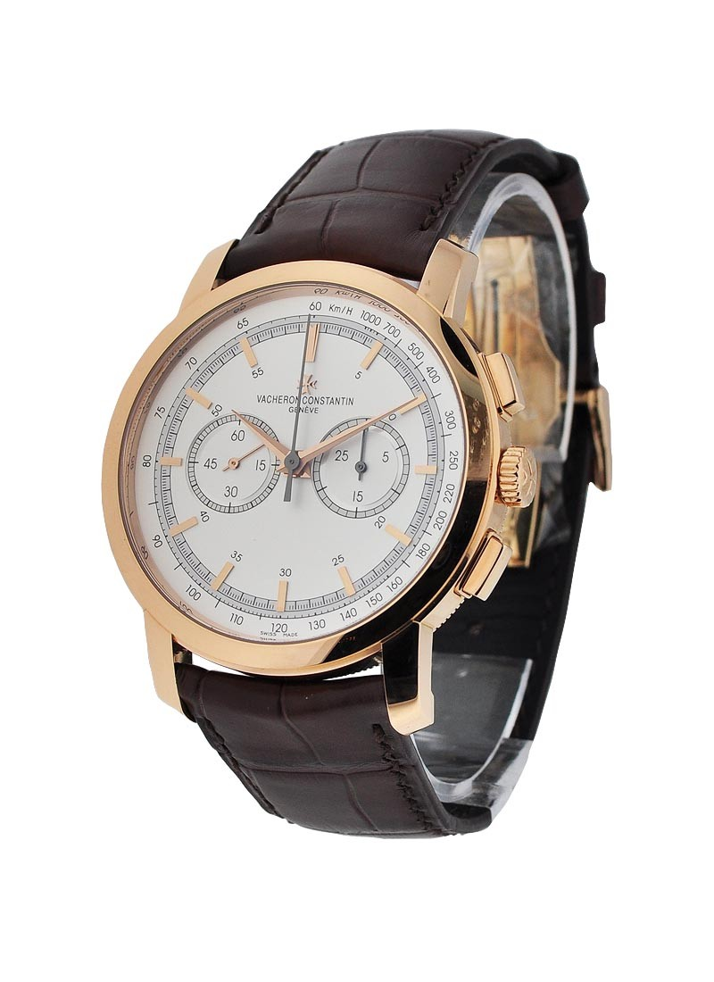 Vacheron Constantin Patrimony Traditionnelle Chronograph in Rose Gold