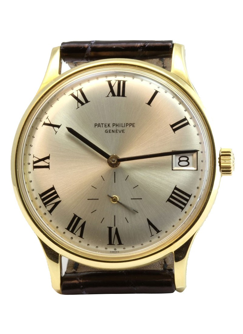 Patek Philippe Vintage 3514J   Yellow Gold   Circa 1969